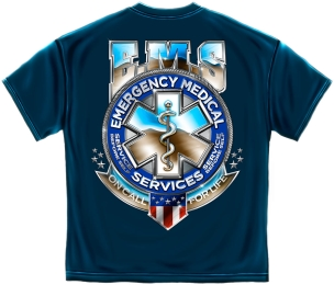 Badge of Honor EMS T Shirt