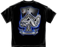 Aces Up Poker T Shirt